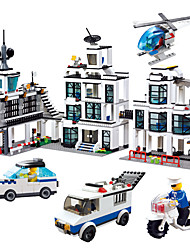 Недорогие -Конструкторы Для получения подарка Конструкторы Автомобиль Мотоспорт Игрушки