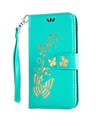 povoljno -Θήκη Za LG K8 / LG / LG G4 Maska za LG Novčanik / Utor za kartice / sa stalkom Korice Cvijet Tvrdo PU koža za LG G4 Stylus / LS770