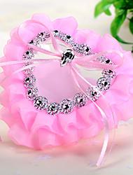 blanc ivoire rose bleu 1 rubans cérémonie de mariage en dentelle de cristal