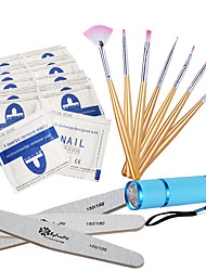 cheap -Nail Tool LED Light Kits/Remove The Nail Polish Glue/LED Lights/Nail Brush/Nail Polish Stick Tools