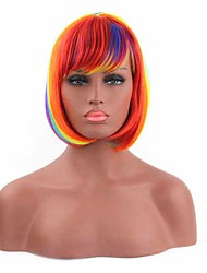 Multi-Color Fashion Women's Synthetic Wigs