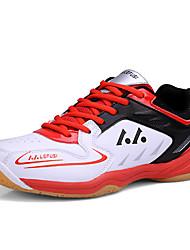 Da uomo Scarpe Di pelle Autunno Comoda Sneakers badminton Lacci Per Giallo Rosso Verde