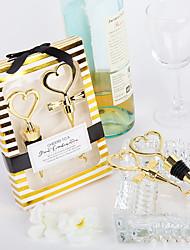 Недорогие -Не персонализированные Материал Хром Пробки для бутылок Открывалки для бутылок Прочее Бутылочка Пляж Праздник Классика Бутылка Фавор