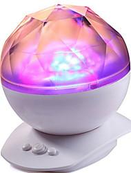 Недорогие -Изменение цвета светодиодные лампы свет ночи&реалистичные полярные сияния звезды ЬогеаНз проектор, снотворное свет цвет рандомизации