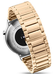 cheap -Three Solid Stainless Steel Metal Watch Strap Band For Huawei Watch(Assorted Colors)