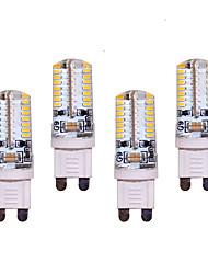 povoljno -550 lm G9 LED svjetla s dvije iglice T 64 LED diode SMD 3014 Ukrasno Toplo bijelo Hladno bijelo AC 200-240V AC 220-240V