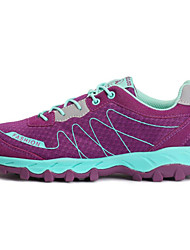 cheap -Women's Running Shoes / Mountaineer Shoes Hiking / Running Breathable Mesh Purple / Light Grey / Dark Gray