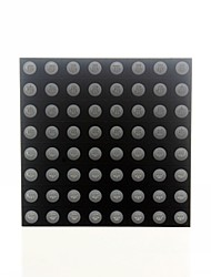 cheap -8x8 RGB LED Full Color Dot Display 60x60mm Common Anode For Arduino