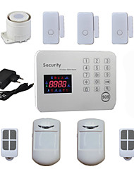 cheap -Burglar Voice LCD GSM Alarm Systems Android For Home Security Safety with 120 Wireless & 2 Wired Alarma Zones