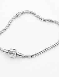 billige -Dame Kæde & Lænkearmbånd - Mode Armbånd Sølv Til Daglig