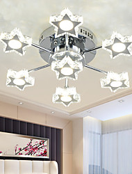 cheap -LED Crystal Lamp Living Room Lamp Star Bedroom Lamp LED Ceiling Lamp