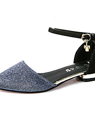 Women's Shoes Glitter Buckle Flat Heel Comfort / Pointed Toe Flats Office & Career / Dress