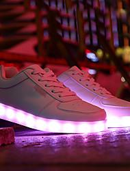 お買い得  -男性用 靴 PUレザー 夏 コンフォートシューズ フラット フラットヒール ホワイト