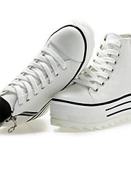 cheap -Women's Shoes Fabric Wedge Heel Comfort Fashion Sneakers with Zipper