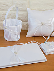 collection de mariage de ruban sertie de ceinture de mariage (4 pièces)