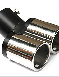 cheap -Automobile Tail s Twin Tails 6363 Car Muffler Tail  Exhaust  Modification Cruz 12-3A \ 929