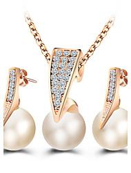 Bijoux Colliers décoratifs Boucles d'oreille Collier / Boucles d'oreilles Nuptiales Parures Gland ModeMariage Soirée Quotidien