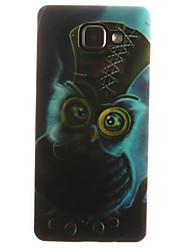 povoljno -Θήκη Za Samsung Galaxy Samsung Galaxy Maska IMD Stražnja maska Sova Mekano TPU za A7(2016) / A5(2016) / A3(2016)