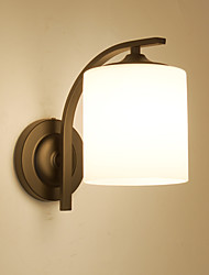 cheap -Country / Modern / Contemporary Wall Lamps & Sconces Metal Wall Light 110-120V / 220-240V 60W