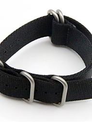 cheap -Luxury Nylon Strap 5 Ring Watch Replacement Band For Garmin Fenix 3