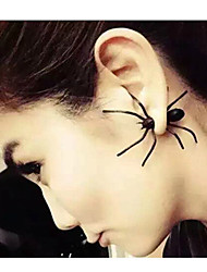cheap -Punk Fashion Before And After  Typer Spider Earrings Elegant Style