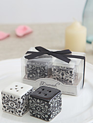 Ceramic Practical Favors-2 Kitchen Tools Classic Theme Black 3*3*3CM Ribbons
