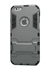 Per iPhone 8 iPhone 8 Plus iPhone 6 iPhone 6 Plus Custodie cover Resistente agli urti Con supporto Custodia posteriore Custodia Armatura