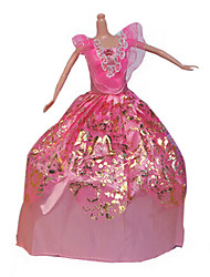 Недорогие -11-дюймовые юбка костюм детские игрушки куклы одежда может быть принцесса задней свадебное платье платье различные цвета