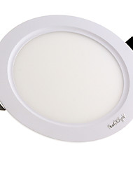 YouOKLight NEW 3W 250lm  15-SMD2835 LED Cool White Light Warm White Light Round Panel Light (AC 85~265V)