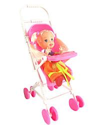 Недорогие -1487 куклы аксессуары келли мини детская коляска сладкий сон дом без младенца игрушки младенца бб автомобиля