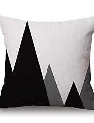 cheap -Cotton/Linen Pillow Cover,Geometric / Graphic Prints Modern/Contemporary / Casual