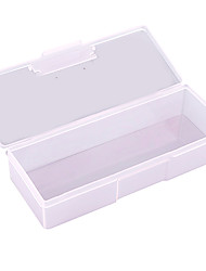cheap -PINPAI Nail Art Supplies Wholesale Tool Boxes Storage Transparent Rectangular