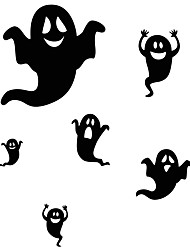 cheap -aw9434 Halloween Stickers Glass Window Stickers Wall Stickers Halloween   Home Decor Ghost Stickers