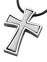 la collana croce pendente