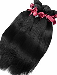 billige -Peruviansk hår Lige / Klassisk Jomfruhår Menneskehår, Bølget Menneskehår Vævninger Menneskehår Extensions / Ret