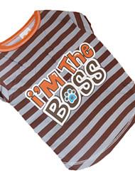 preiswerte -Hund T-shirt Hundekleidung Atmungsaktiv Kaffee Kostüm Für Haustiere