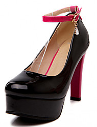 Women's Shoes Leatherette Spring queen extra large high heels Casual Stiletto HeelRhinestone / Applique /