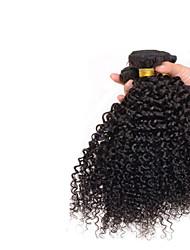 abordables -3 offres groupées Cheveux Mongoliens Bouclé / Afro / Tissage bouclé Cheveux humains Tissages de cheveux humains Tissages de cheveux humains Extensions de cheveux humains / Très Frisé