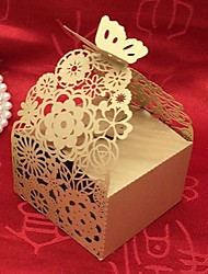 cheap -Cubic Card Paper Pearl Paper Favor Holder With Laces Favor Boxes Gift Boxes-20