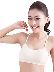 XLY Development Puberty Teenagers Girl's Comfortable Cotton Wireless Sports Bra Underwear. Item. Thin Cup Bra.Code 682
