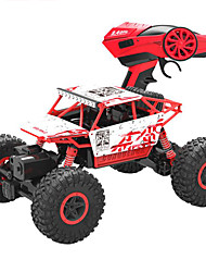 abordables -Coche de radiocontrol  HB-P1801 4WD 2.4GH Off Road Car Alta Velocidad 4WD Drift Car Buggy Escalada de coches 1:18 Brushless Eléctrico KM