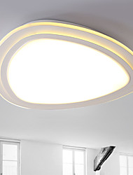 cheap -15W Modern Style Simplicity Ultra thin type LED Ceiling Lamp Flush Mount Living Room Bedroom Kids Room light Fixture