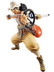 billiga -Anime Actionfigurer Inspirerad av One Piece Cosplay 23 cm CM Modell Leksaker Dockleksak