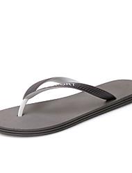 povoljno -Muškarci Cipele Guma Proljeće Ljeto Papuče i japanke Obuća za rijeke za Kauzalni Crn Sive boje Plava