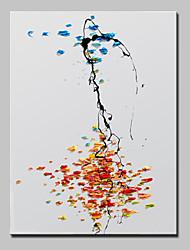 baratos -mão pintura a óleo lona pintada pintura moderna parede retrato da parede com moldura abstracta esticado pronto para pendurar