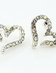 Women's Fashion Diamond Love Earrings