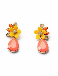 cheap -Women's Flower - Party / Bohemian / Fashion Golden Earrings For Party / Daily / Casual