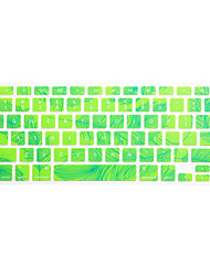 abordables -SoliconeKeyboard Cover For13.3 '' / 15.4 '' Macbook Pro con Retina / MacBook Pro / Macbook Air con Retina / MacBook Air
