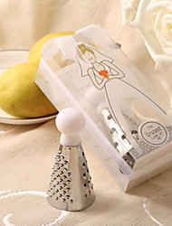 Beter Gifts® Stainless-Steel Cheese Grater Practical Kitchen Wedding Favors
