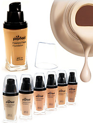 cheap -Flawless Coverage Whitening Moisturizer Concealer Contour Oil Free SPF15 Waterproof Finish Liquid Foundation BB Cream